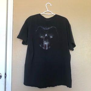 Vintage American Reaper T Shirt Black